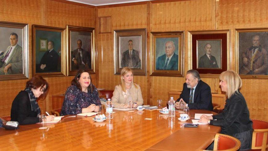 Radni sastanak s predstavnicima UNICEF-a i HOK-a