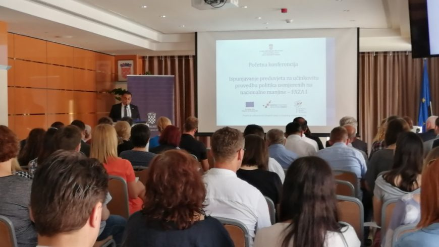 Predstavljanje projekta o provedbi politika za nacionalne manjine
