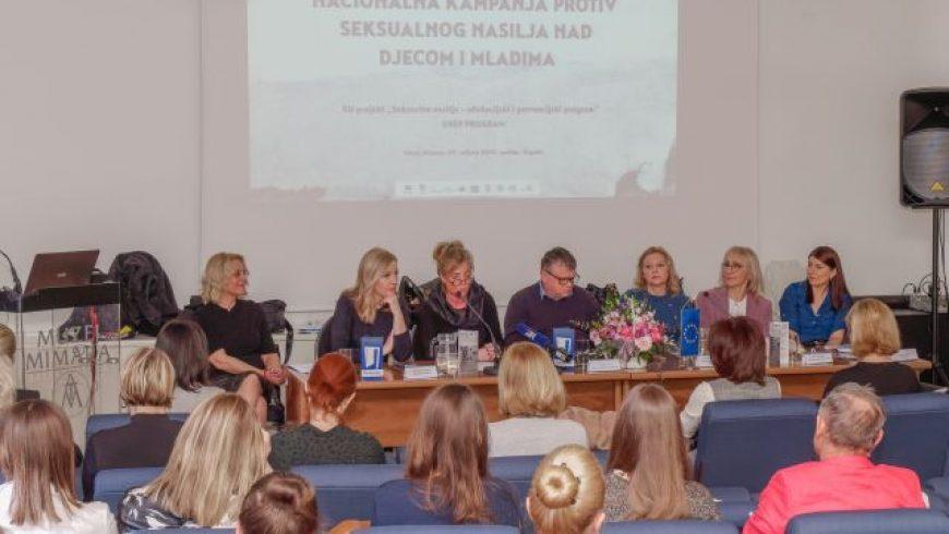 Predstavljena kampanja protiv seksualnog nasilja nad djecom i SNEP program