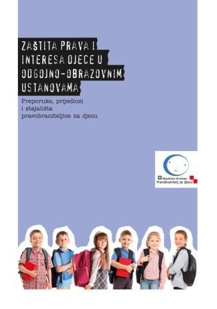 Nova publikacija o pravima djece u odgojno-obrazovnim ustanovama