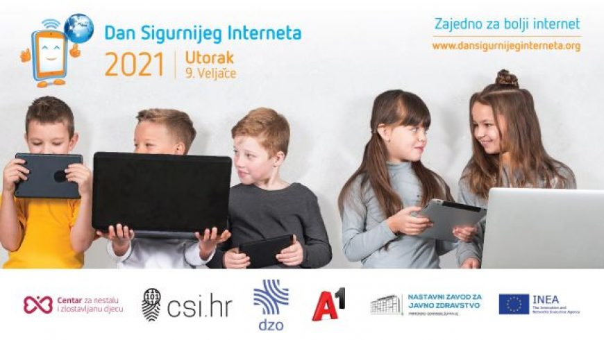 Webinari za djecu i nastavnike uz Dan sigurnijeg interneta
