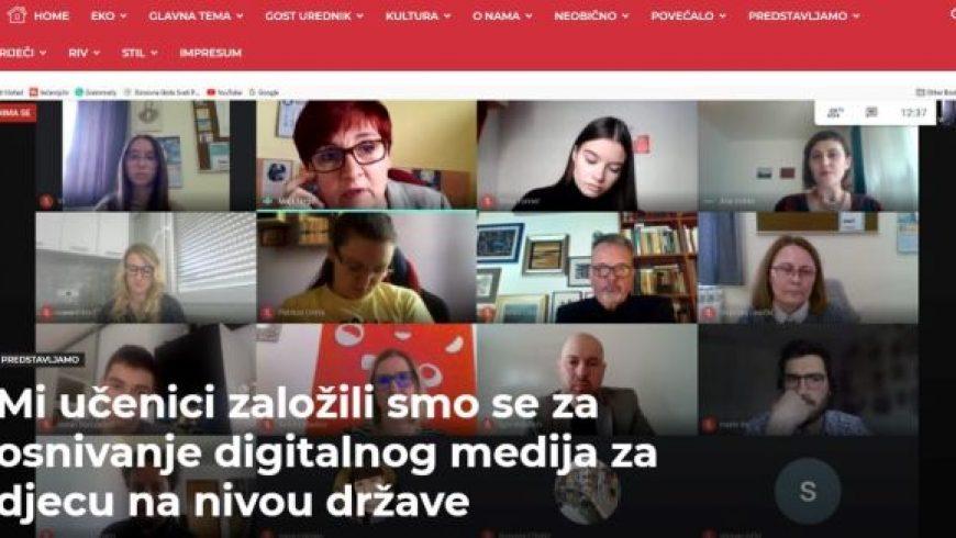 Okrugli stol o digitalnim časopisima za djecu