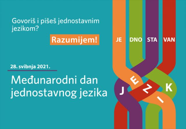 Prvo obilježavanje Međunarodnog dana jednostavnog jezika u Hrvatskoj