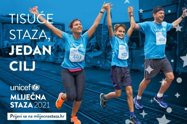 """UNICEF-ova utrka """"Mliječna staza"""" od 3. do 12. rujna"""