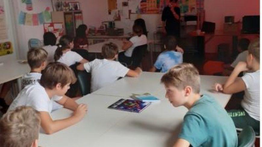 Susreti s učenicima Katoličke osnovne škole Josip Pavlišić u Rijeci